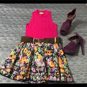 Bundle.!! Top, skirt, shoes